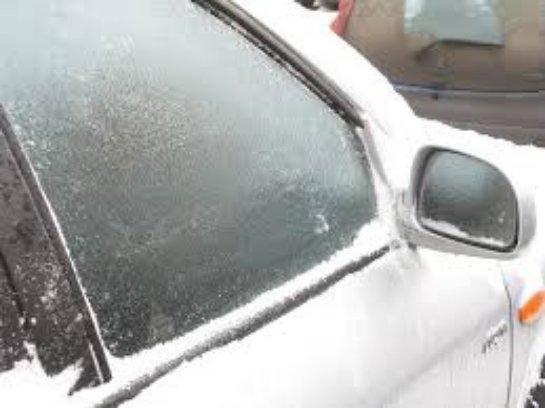 Обледенение автомобильных стекол