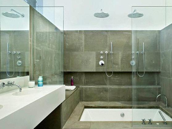Стеклянная перегородка для ванной и не только