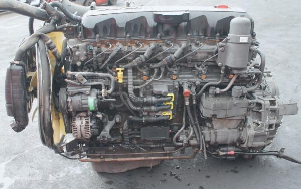 Контрактные двигатели от разных брендов, включая DAF