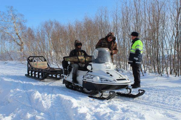 Получение водительских прав на снегоход в Москве